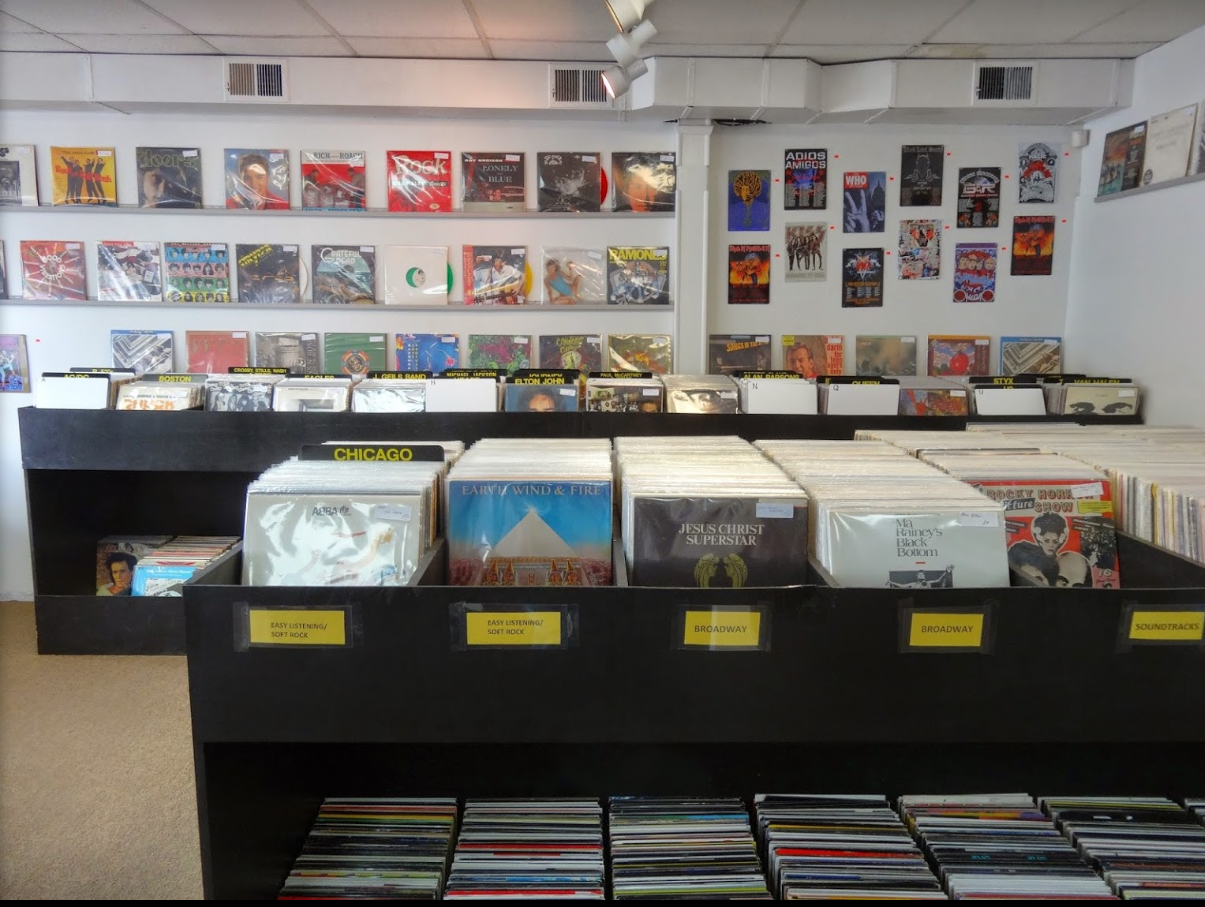where to buy records in the greater Boston Area